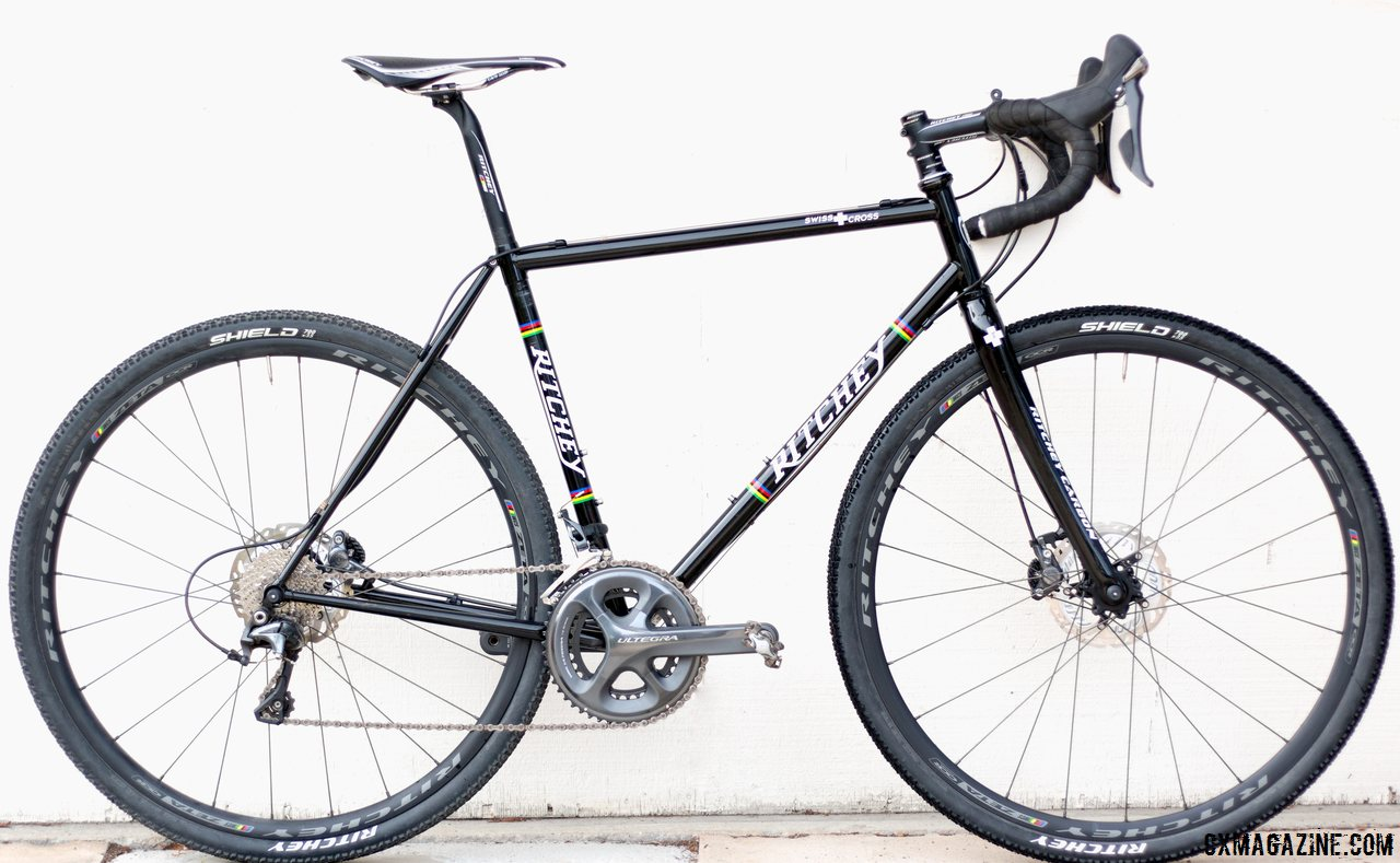 the ritchey swiss cross has classic lines with the simple thin tubes that only steel
