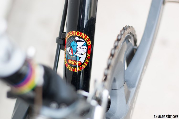 The Swiss Cross is handmade to Tom Ritchey's exacting standards. © Cyclocross Magazine