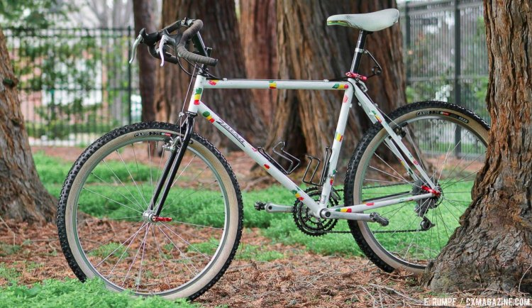 1991 Salsa Alacarte drop bar mountain bike peeks out to remind us that much of what is old is new. © Eric Rumpf