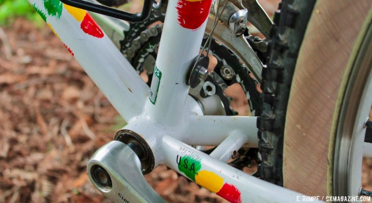 Threaded bottom brackets, front derailleur cable rollers, and fender mounts all have withstood the test of time and are still seen on the new crop of drop bar offroad bikes. 1991 Salsa Alacarte drop bar mountain bike. © Eric Rumpf
