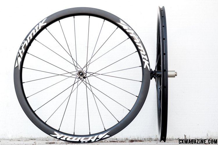 Atomik 38C Disc wheels are durable, easy to set up and have a retail price of $1549. © Cyclocross Magazine