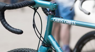 Fat Chance crosses the country but brings back the Chris Cross with beautiful paint and a matching stem. © Cyclocross Magazine