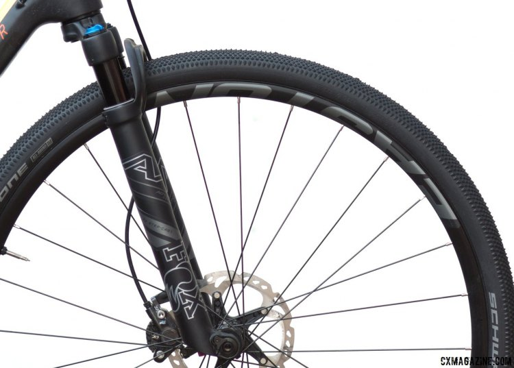 The Arc 24 rim was initially launched for mountain bikes, but the 24mm internal width is ideal for gravel and adventure, and the lines get more blurred between the two categories every day. © Cyclocross Magazine