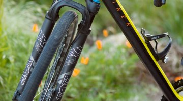 The 32 Step-Cast AX (Adventure Cross) suspension fork is at home among any of Mother Nature's spring surprises. © Cyclocross Magazine