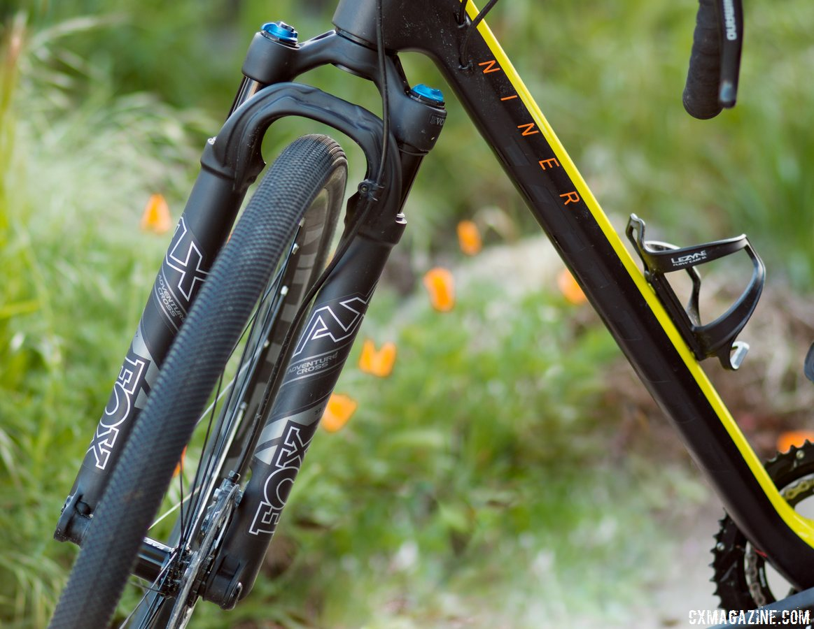 First Ride Review Fox Step Cast Ax Adventure Cross Suspension Fork