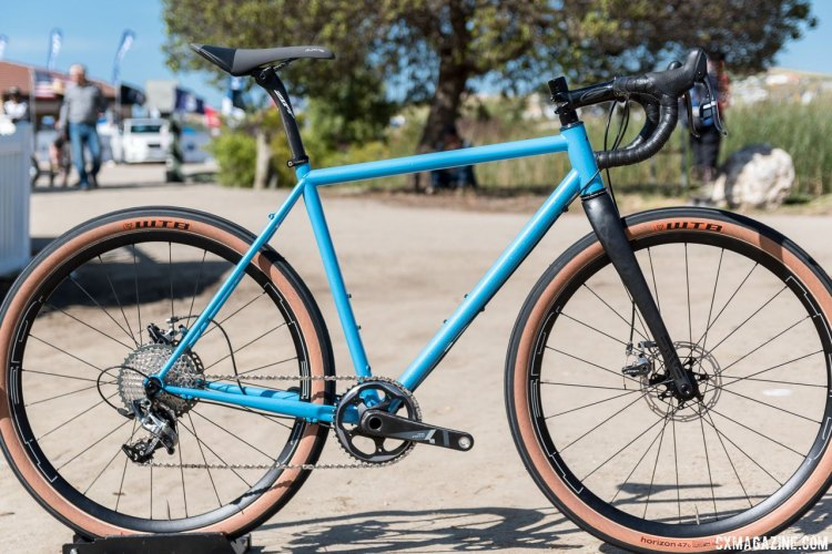 The made-in-USA Grimes has been updated and is back. 2017 Sea Otter Classic. © C. Lee / Cyclocross Magazine