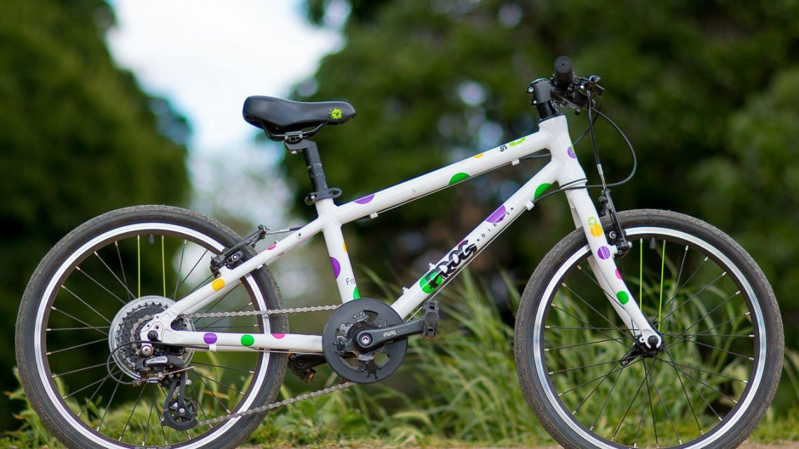 "The Frog Bikes 55 20"" wheel kid's bike brings lightweight, affordable joy. © Cyclocross Magazine"