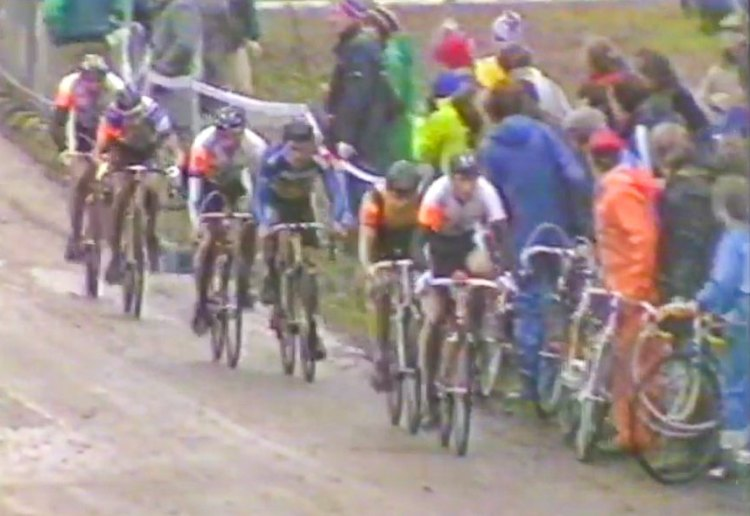 The 1988 British Cyclocross National Championships in Sutton Park featured great racing, a tough course and impressive tv camera work.