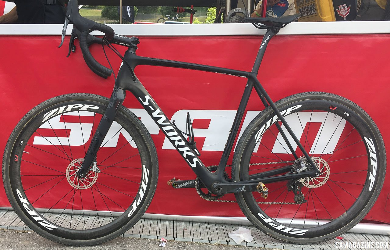 Spotted Specialized S All New 2018 Specialized Crux