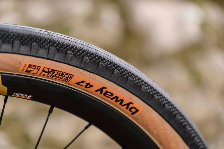 The new $67.95 Byway Road Plus TCS tubeless gravel tire from WTB.