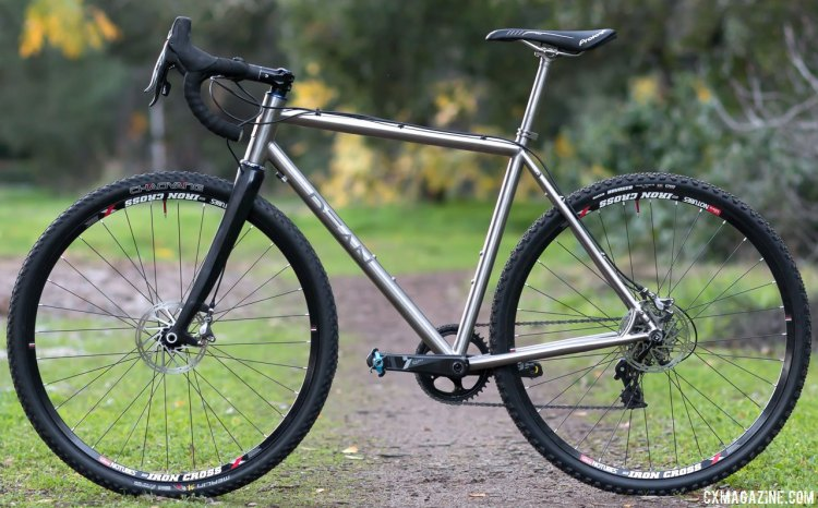 Dean moved production of the Antero cyclocross bike to the U.S. and gave the frameset a cost bump to $1,700 . © Cyclocross Magazine
