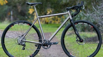 Dean Antero titanium cyclocross bike. © Cyclocross Magazine