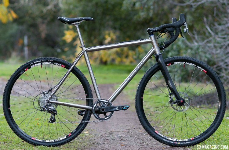 Dean Antero titanium cyclocross frame brings titanium to your garage for just $1250. © Cyclocross Magazine
