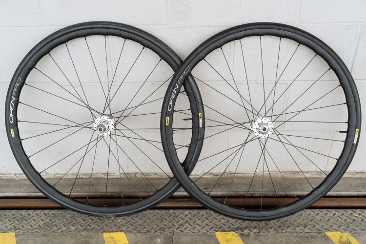 Mavic has revamped and relaunched the legendary Open Pro rim. It comes in three versions: standard, Exalith braking surface, and a disc brake option. © Cyclocross Magazine
