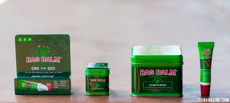 Vermont's Original Bag Balm. Press Camp 2017. © Cyclocross Magazine