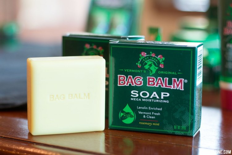 Unlike the original product, Vermont's Original Bag Balm soap offers fragrance for a fresh post-ride clean-up smell. Press Camp 2017. © Cyclocross Magazine