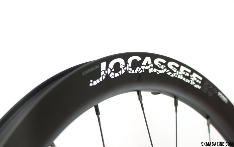 Boyd Cycling's new Jocassee 650b carbon gravel wheel is named after an area in South Carolina that features miles of great gravel riding. Press Camp 2017. © Cyclocross Magazine