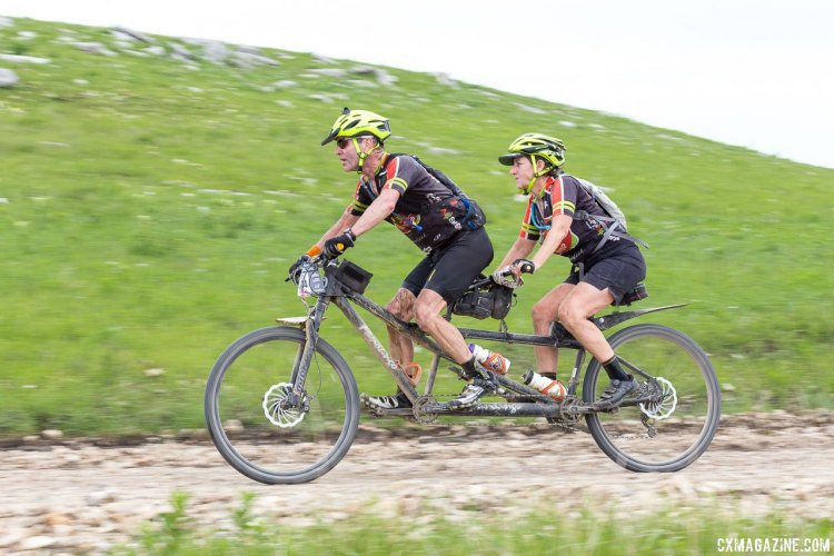 Whatever bike you choose, it's the right choice for a gravel ride. 2017 Dirty Kanza gravel race. © Christopher Nichols