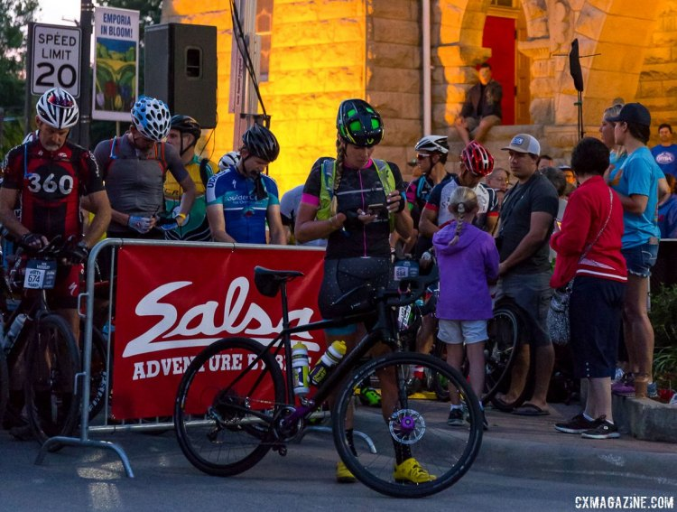 Alison Tetrick gets ready for her run at the DK200 title. © Christopher Nichols