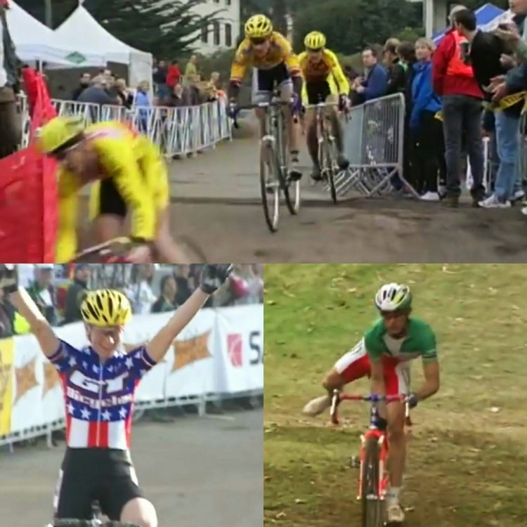 1999 Saturn Supercup cyclocross series video.