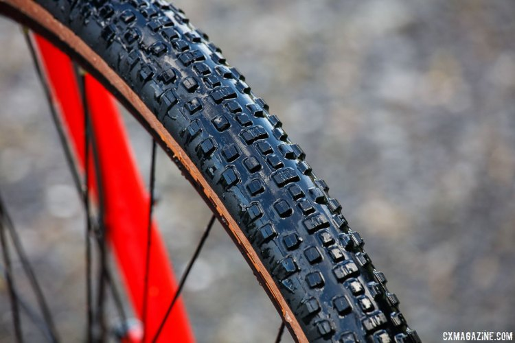 The WTB Resolute 42 gravel is the Cross Boss' younger-but-bigger brother.