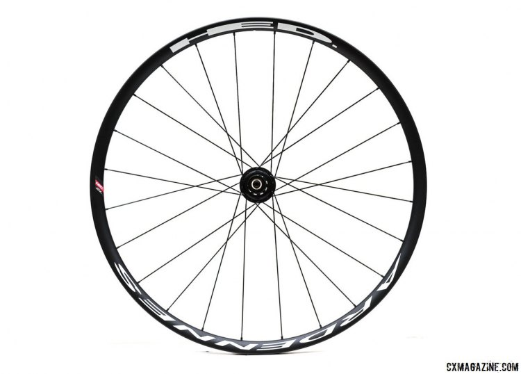 HED Cycling Ardennes SL disc tubular wheelset weighs 1,435 grams for the quick release version and has an MSRP of $1200.© Clifford Lee / Cyclocross Magazine