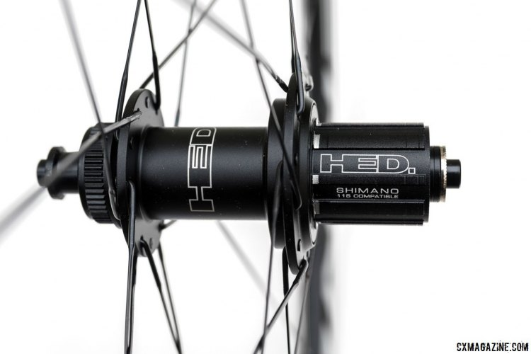 A Shimano-compatible freehub comes standard on the Ardennes SL. A SRAM XD driver or a Campagnolo-compatible body is available seperately.© Clifford Lee / Cyclocross Magazine