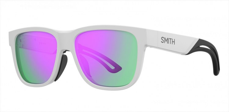 The Smith Lowdown Focus sunglasses feature its proprietary ChromaPop lenses and colors to match the 2018 helmet lineup. photo: Smith Optics.