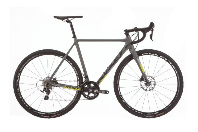 The 2018 Ridley X-Night SL disc weighs just 850g and features rear thru axle and a redesigned bottom bracket area for more mud clearance. photo: Ridley.