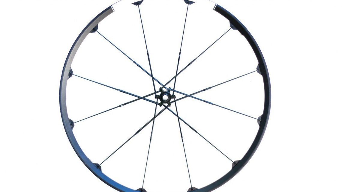 Crankbrothers Zinc 3 cyclocross/gravel wheels are disc only, tubeless ready, and eye catching. © Cyclocross Magazine