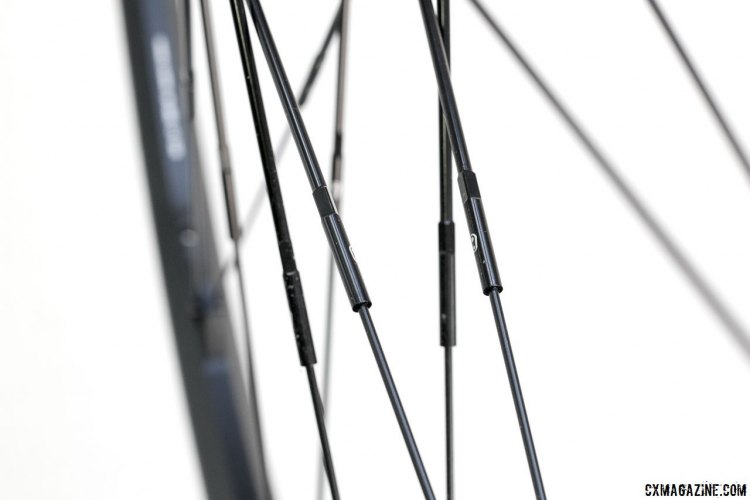 Crankbrothers Zinc 3 cyclocross/gravel wheels use twinpair spokes of a single length. © Cyclocross Magazine