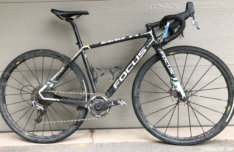 Janel Holcomb's 2017 Crusher-winning Focus Mares cyclocross bike.