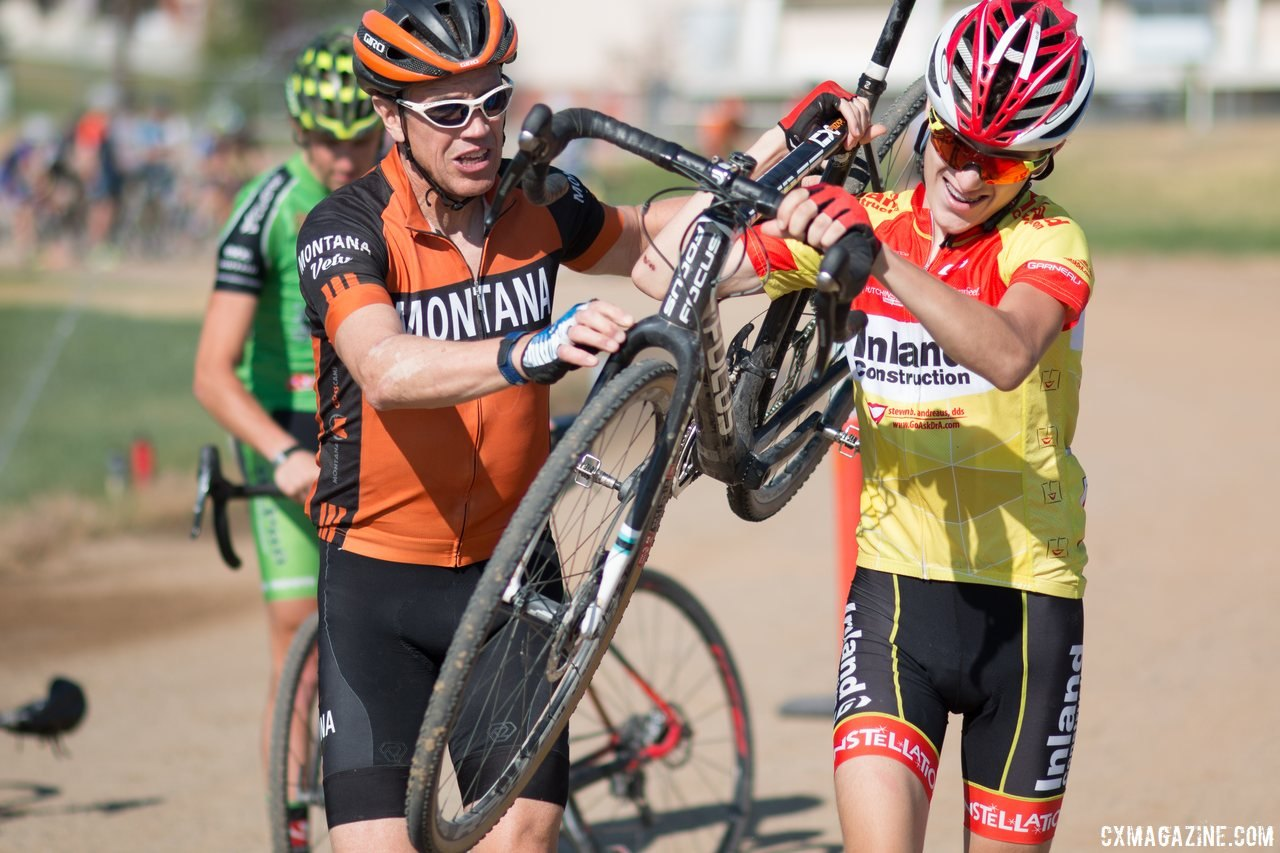 Geoff Proctor returns as the camp's head coach. 2017 Montana Cross Camp © Cyclocross Magazine