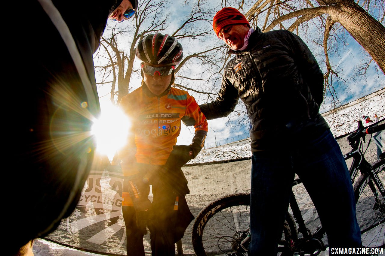 Will we see Amanda Miller's star power in cyclocross again? photo: Warming up after second. Elite Women, 2017 Cyclocross National Championships. © A. Yee / Cyclocross Magazine