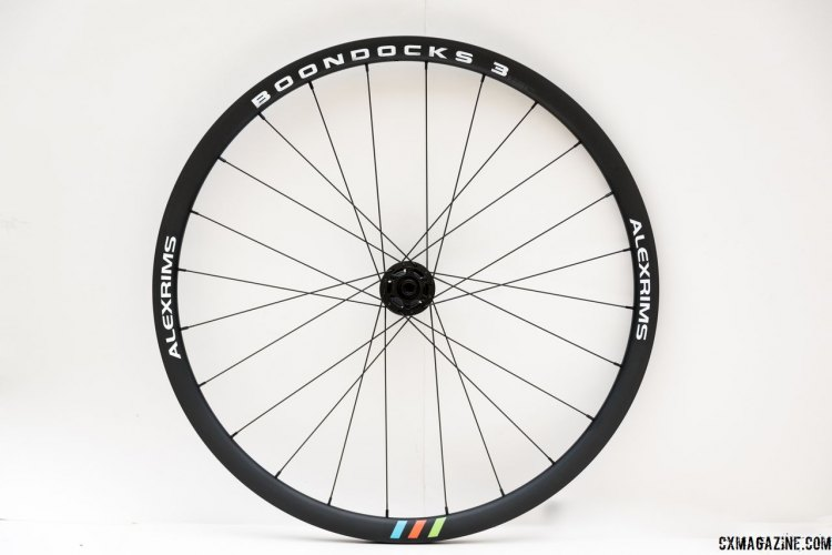 The AlexRims Boondocks 3 is a wheelset designed for the cyclocross and gravel rider. 700c, disc only