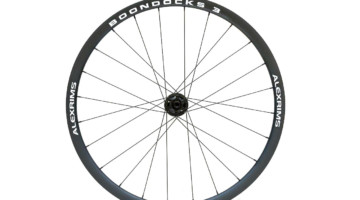 The AlexRims Boondocks 3 is a wheelset designed for the cyclocross and gravel rider. 700c, disc only © C. Lee / Cyclocross Magazine
