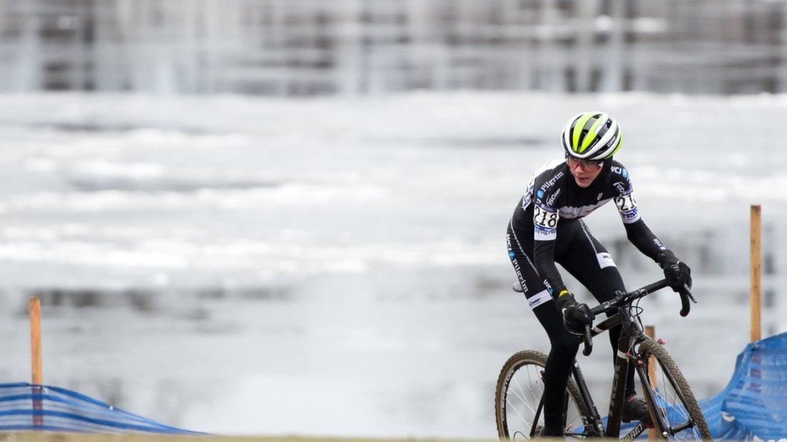 Dylan Zakrajsek, 2017 Junior 13-14 Cyclocross National Championships, Hartford. © A. Yee / Cyclocross Magazine