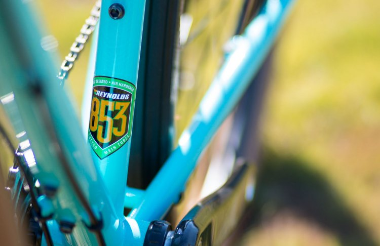 2018 Kona Rove LTD Reynolds 853 steel 650b bike features double butted tubes. A frameset is available for $1499. © Cyclocross Magazine