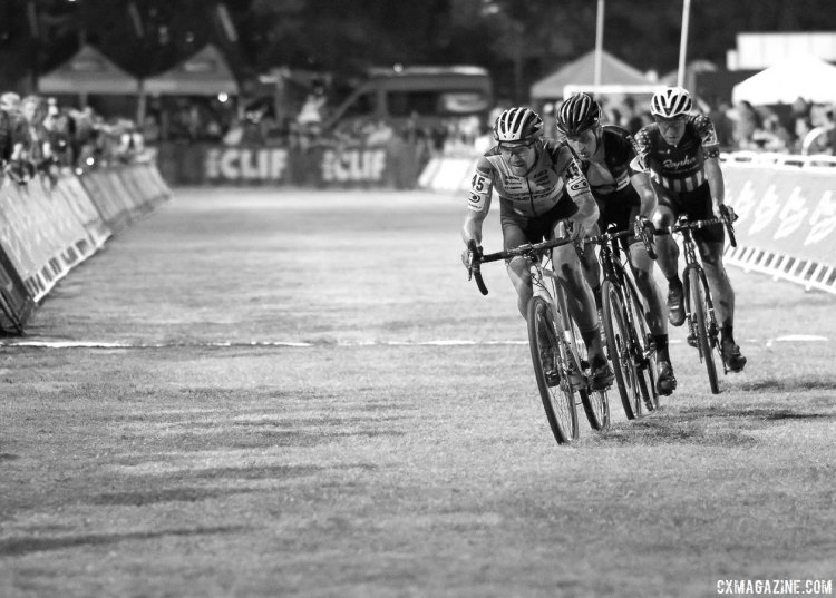 Garneau-Easton's Michael van den Ham led all North Americans at the 2016 CrossVegas World Cup. © Cyclocross Magazine