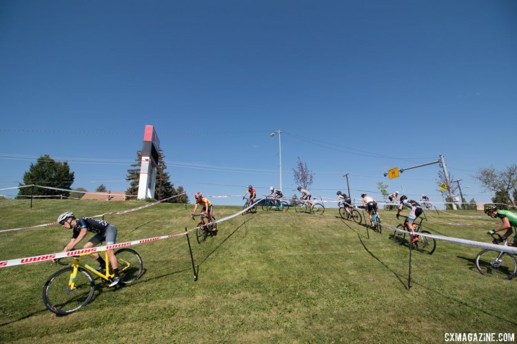 The campers compete in one finl race on Friday of the camp. 2017 Montana Cross Camp © Cyclocross Magazine