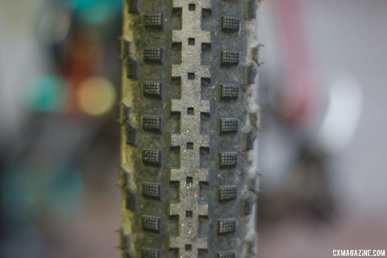 Soma Fabrications new 700 x 50 Cazadero tubeless gravel tire is a high-volume version of the Editors' Choice-winning 42mm version. © Cyclocross Magazine