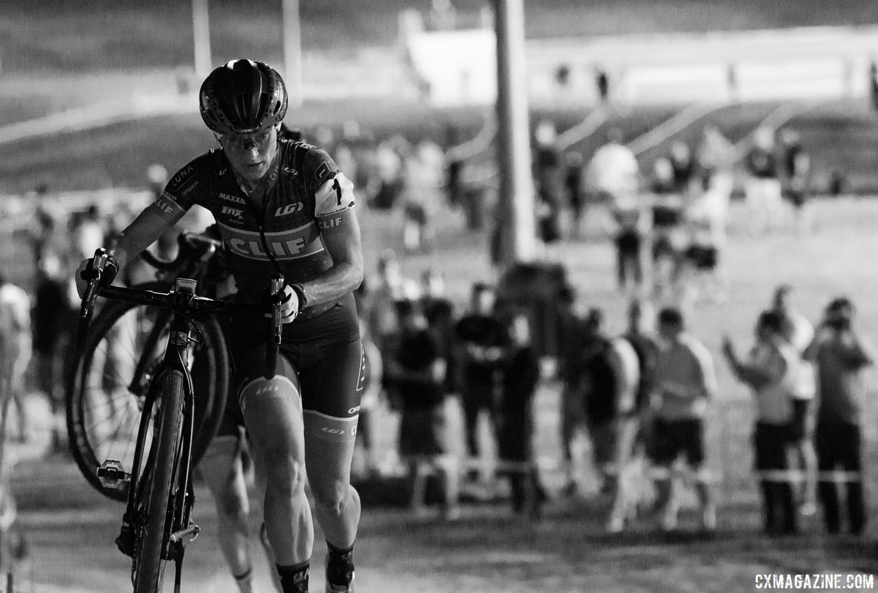 Katerina Nash is back looking for her first RenoCross win. 2017 CrossVegas, Elite Women. © A. Yee / Cyclocross Magazine