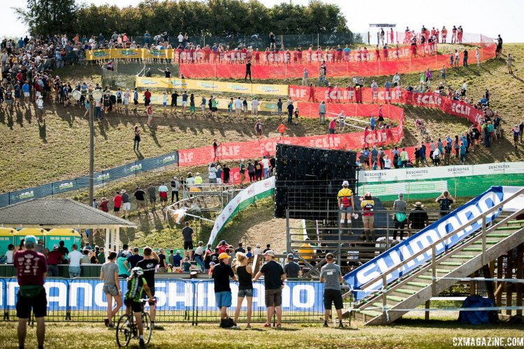 2017 Jingle Cross World Cup, Elite Men. © J. Curtes / Cyclocross Magazine