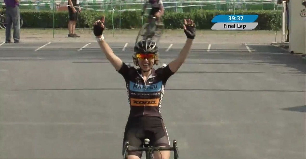 Joyce Vanderbeken won twice in China in 2017. photo: screen capture