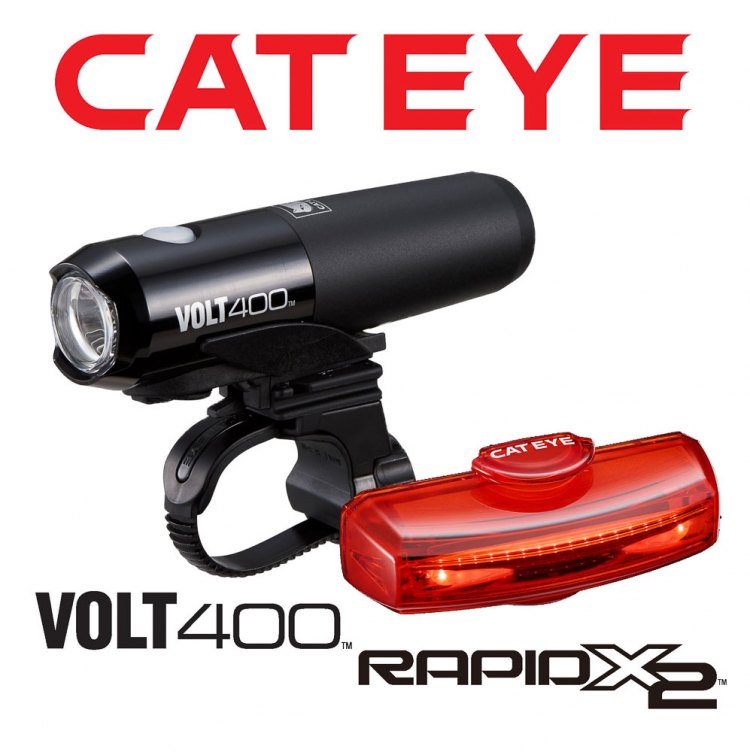 CatEye Volt 400 / Rapid X2 Combo giveaway