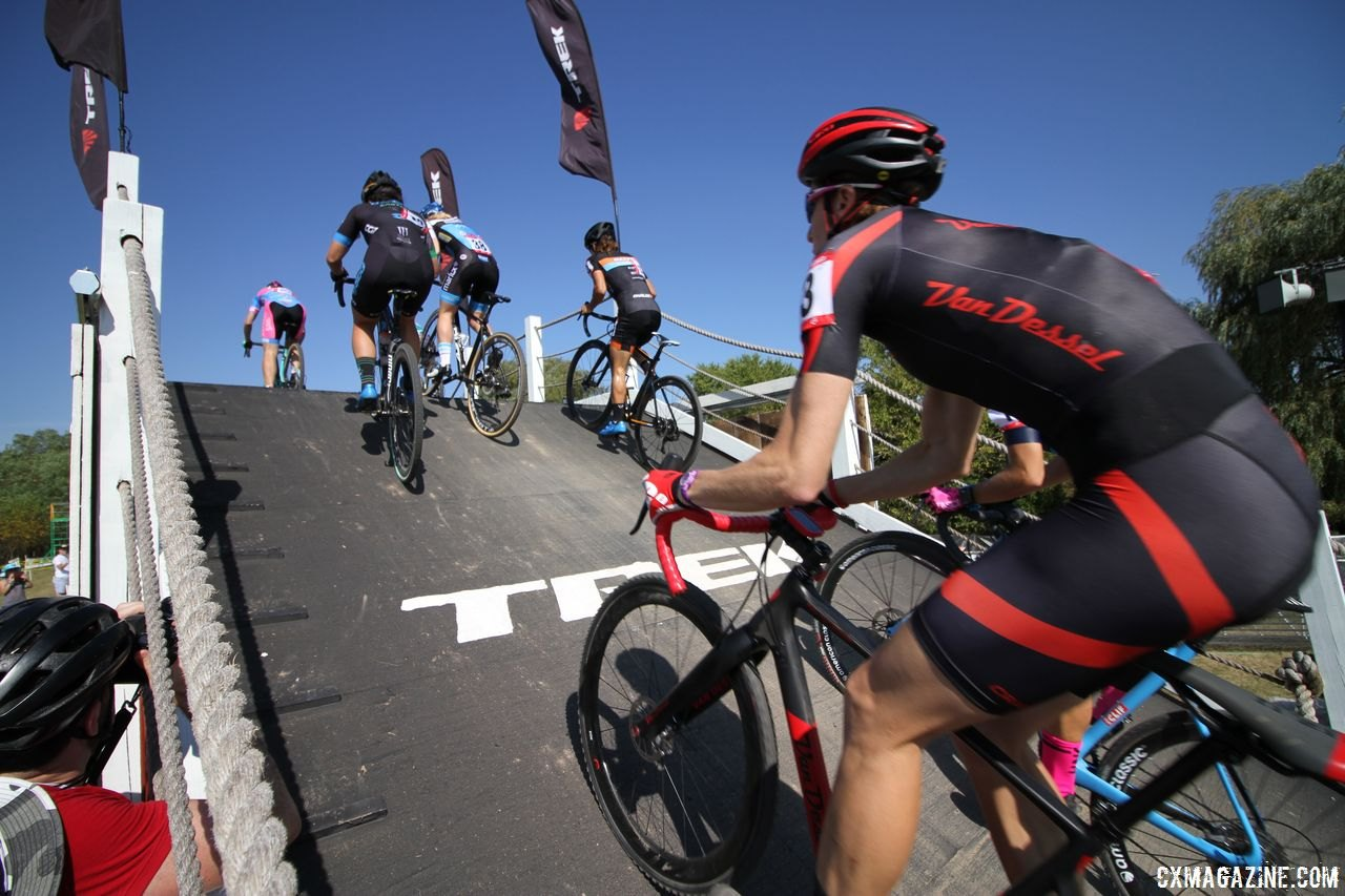 The Waterloo course will have more flyovers this year. © D. Mable / Cyclocross Magazine