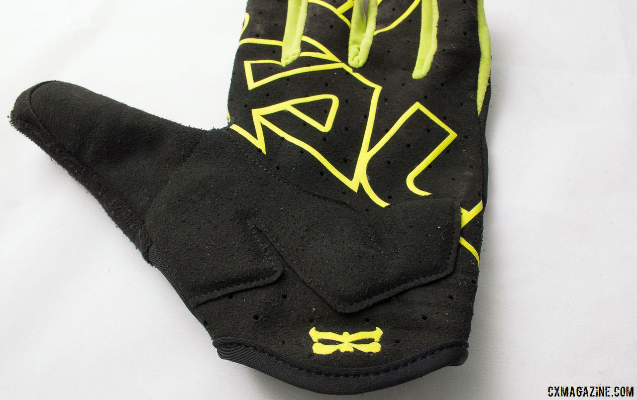 Kali Protectives Venture Gloves offer more protection and material than minimalist gloves, and seem to hold up better to abuse as well after two months' use. © Cyclocross Magazine