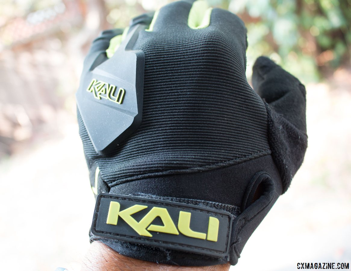 Kali Protectives Venture Gloves offer more hand protection than minimalist gloves, but don't feel bulky. A velcro closure makes for an easy on/off. © Cyclocross Magazine