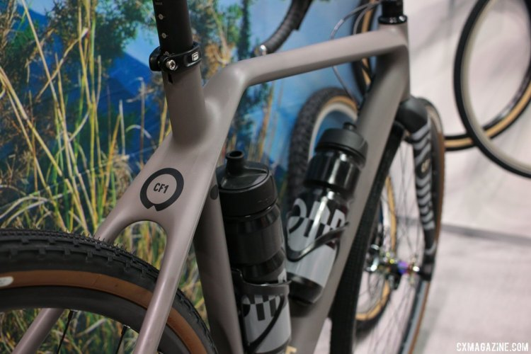The Rondo Ruut CF1 carbon gravel bike. Interbike 2017 © Cyclocross Magazine