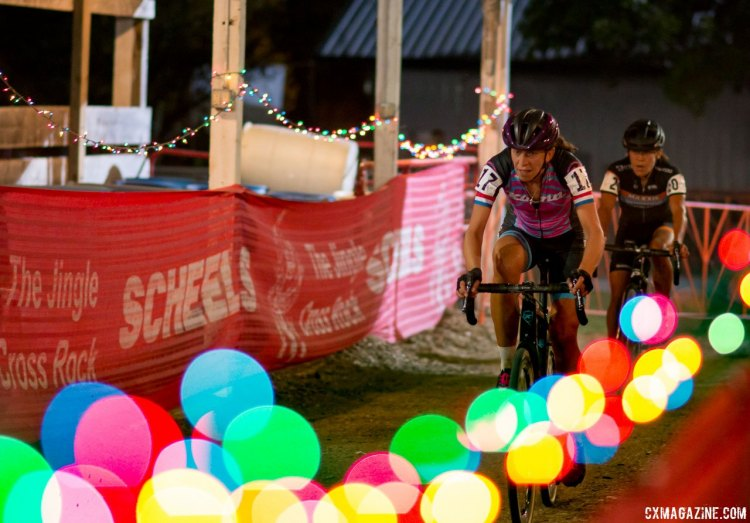 2017 Jingle Cross Day 1 UCI C1, Elite Women. (Friday Night) © A. Yee / Cyclocross Magazine